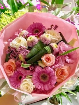 花束♡ピンクのブー…